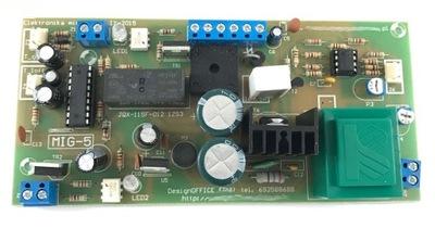 UNIVERZÁLNY panel pre migomatu ovládač MIG-5