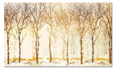 Изображение Дерево 47 - 120x70cm цвета осени золото