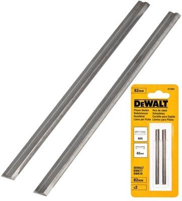 ножи клинок для струга HSS 82мм DeWalt DT3905