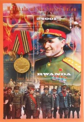 Marszałkowie ZSRR W. Sokołowski Rwanda ** #VG1010