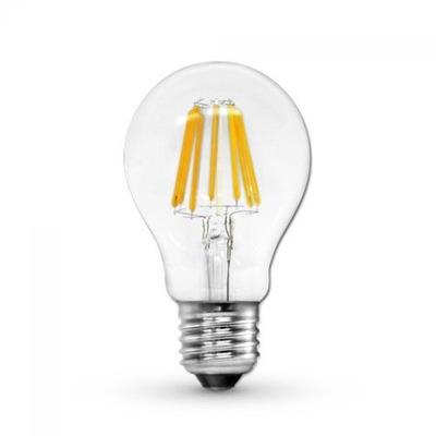 Лампа LED E27 filament 6W edison ретро Нарядная