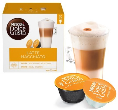 Nescafe Dolce Gusto кофе, Латте Макиато XXL 30шт