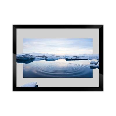 Изображение фотография В Исландии Пейзаж ? рамой марина