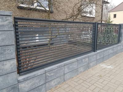 Подвесной забора GOLD II, забор, ворота