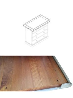 Rozšírenie prebaľovací stôl prebaľovací stôl dreva 94x55x13