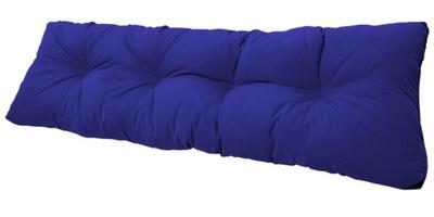 подушка на скамейку садовую качели 120x38 василек