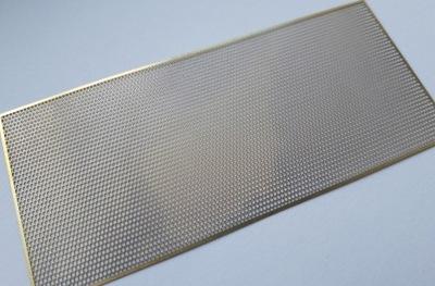 плитка Сетка соты 40x90 мм в масштабе H0
