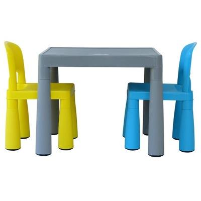 МАМОНТ 1 микс комплект столик+2 стульчики для кормления