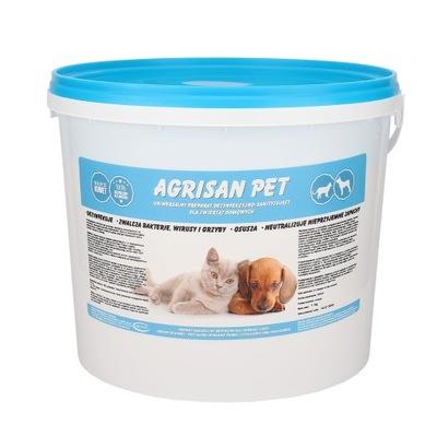 AGRISAN ПЭТ дезинфекция для домашних животных 5 кг