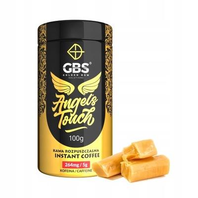 кофе GBS ANGEL'S TOUCH Растворимый 100г. Коровка