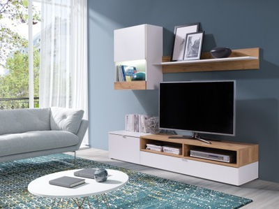 СОВРЕМЕННАЯ СТЕНКА Roco / Мебель для гостиной