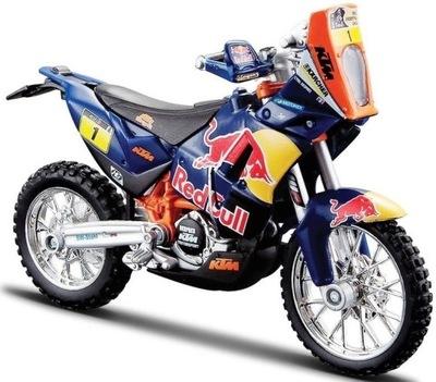 KTM 450 Rally, Red Bull, Дакар, Ралли 1 :18 Bburago