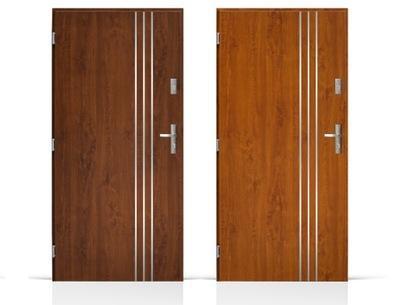 двери Внешние Входные Стальные  100 см