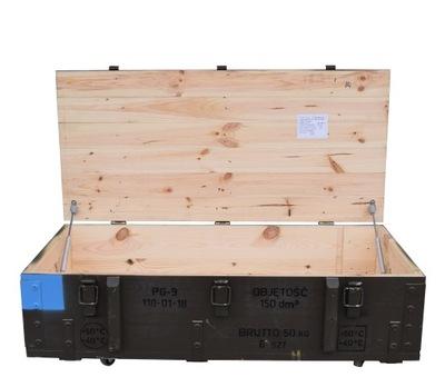 Drevený box na kolieskach záhrady TRVALÉ PG-9