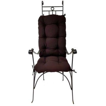 Vankúš na lehátko kresle swing viazaná na stoličke
