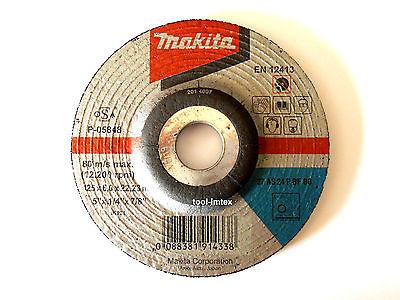 Makita диски шлифовальные 125x6mm 5 штук комплект