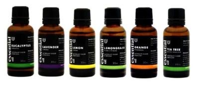 Sada 6 x 30 ml prírodný esenciálny olej, PREMIUM