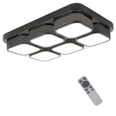 черная потолочный СВЕТИЛЬНИК LED панель LED + пульт