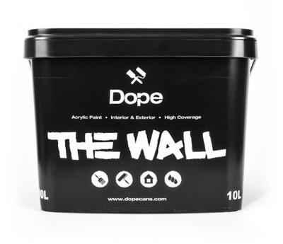 Farba Czarna Dope TheWall do betonu i elewacji 1 l