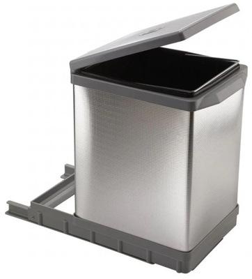 Корзина выдвижной для мусора TOWER PAL609/1aluminium