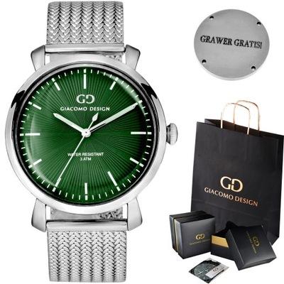 Zegarek męski Giacomo Design GD09 4 WZORY!
