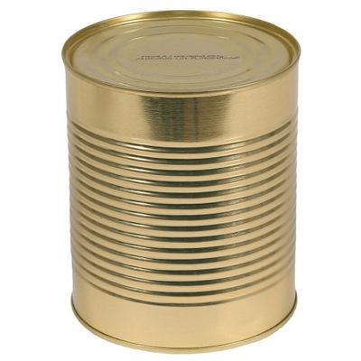 консерва военная - коричневого цвета мясо измельченное 810 Г