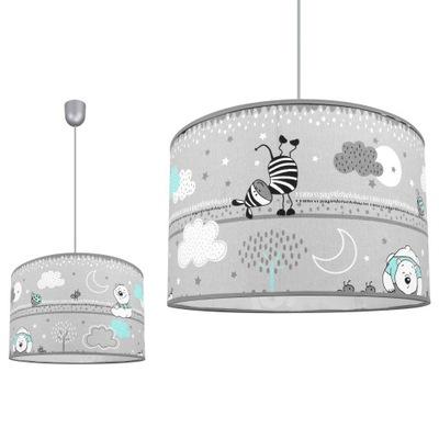 Потолочный СВЕТИЛЬНИК подвесной светильник с ABAŻUREM детский