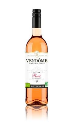 вино безалкогольные напитки Vendome Мадемуазель Роза Ноль %