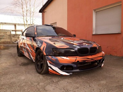 BMW 3 E46 Wide Body Расширения Drift Daily