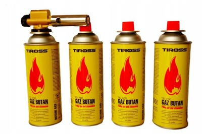 ГОРЕЛКА газовый БАЛЛОН чугунная сварка +4 ГАЗЫ