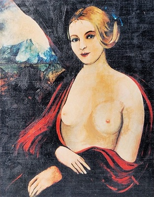 Ван Кломпены - Мадонна Упала с большой cycem,