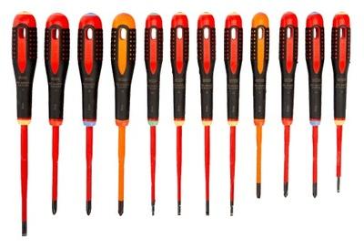 BAHCO комплект отверток для электрика 1000В SLIM