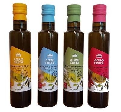 Oliwa z oliwek KPL 4-smaków 250ml GRECJA KRETA
