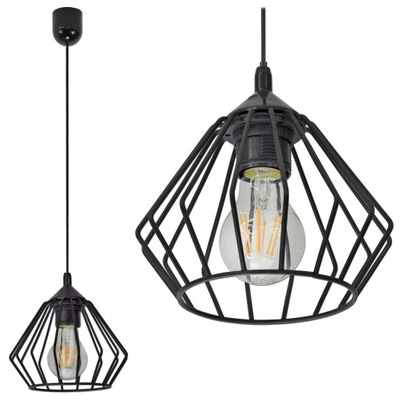 LAMPY PRÍVESOK svietidlo STROPNÉ LED LUSTER DIAMOND