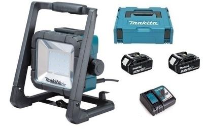 MAKITA DML805 LED LAMPA 14,4 V/18V a 230V 2x3Ah
