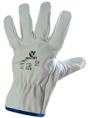 перчатки рабочие сварочные TIG кожа короткие 9 L
