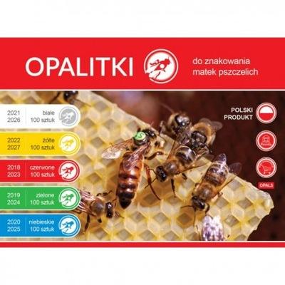 OPALITKI na 5 rokov, stanovenej pre označenie včely