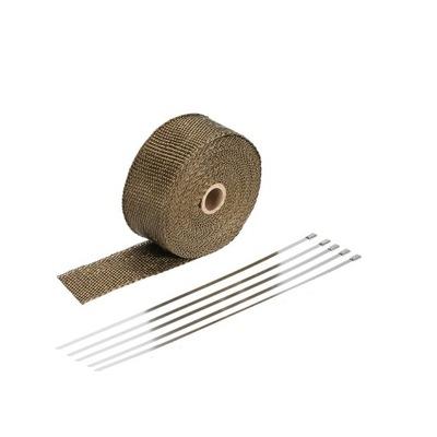 Базальтовая лента теплоизоляции ТУРБО 20м + повязки