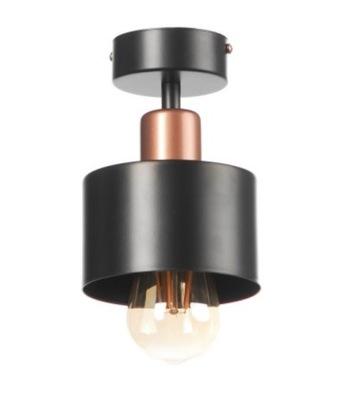 MODERNÉ TIENIDLO LAMPY stropné svietidlo ATLANTA BLACK