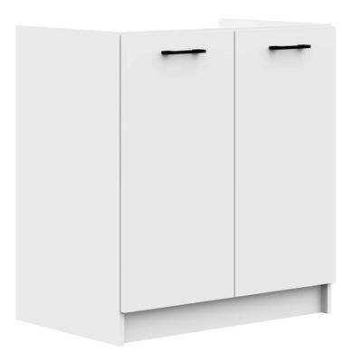 ШКАФ кухонная S80ZL ОЛИВИЯ шкаф под мойку белая
