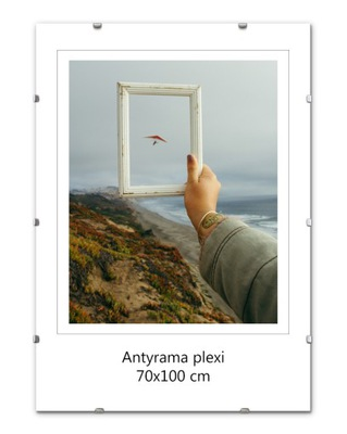 ANTYRAMA PLEXISKLO FOTO rámček FOTO B1, 70x100 cm