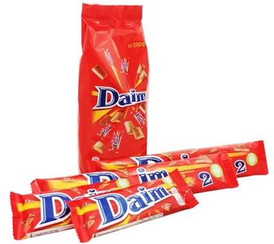 Daim комплект сладости конфеты + конфеты