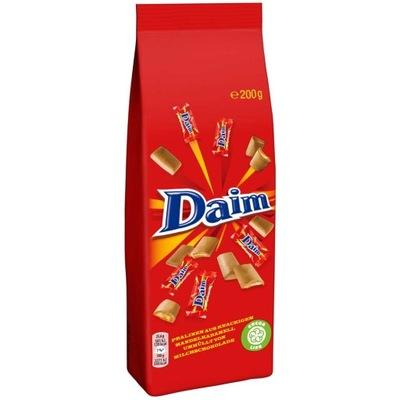 Daim конфеты с хрустящей миндальным карамелью 200