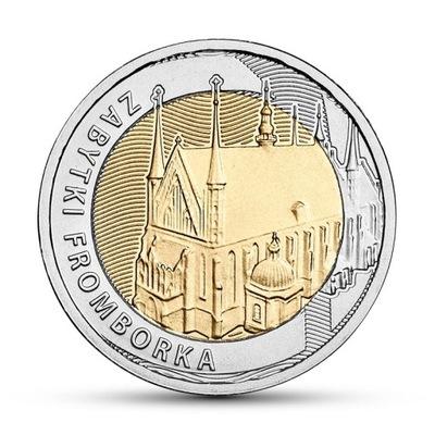 Монета 5  Фромборк Достопримечательности 2019