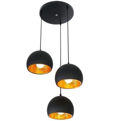 lampy, stropné lampy GLAMOUR prívesok lampa TRIPLE E27 LED