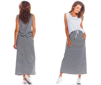 Długa spódnica biały 40 L 946066 bonprix