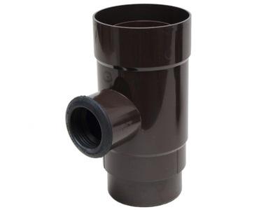 Catcher / zberač dažďovej vody 110 mm tmavo hnedé