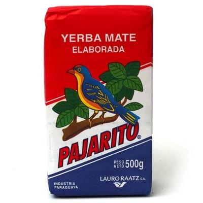 Yerba mate Pajarito Elaborada 500? con palo Ноль ,5 кг