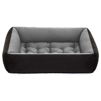 логово собака Серые диван манеж 95x75