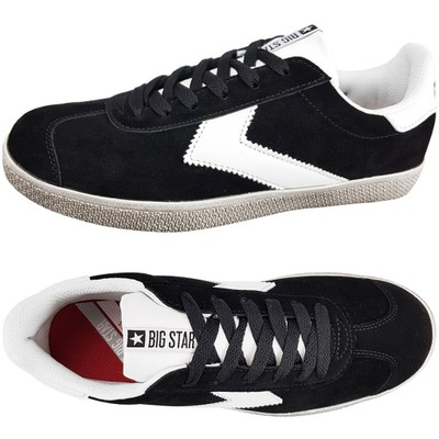 Trampki Big Star damskie czarne buty DD274299 38